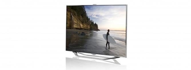 Samsung smart tv smart hub 3D apps 8 series design