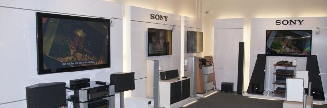 Sony fladskærme HiFi 3D