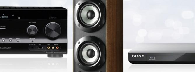Sony HiFi produkter Højttaler receiver bluray