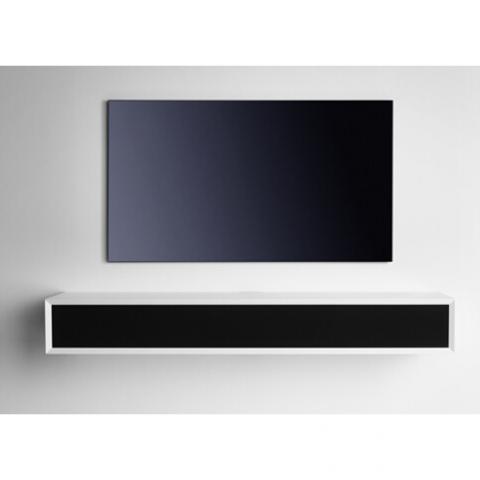 Clic 131S hvid med sort frontstof