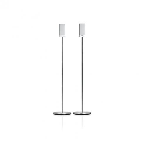 Loewe S1 højtalere på gulvstander
