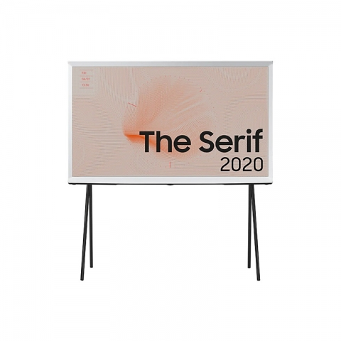 "The Serif 4K Smart TV 43"" Cloud White (2020)"