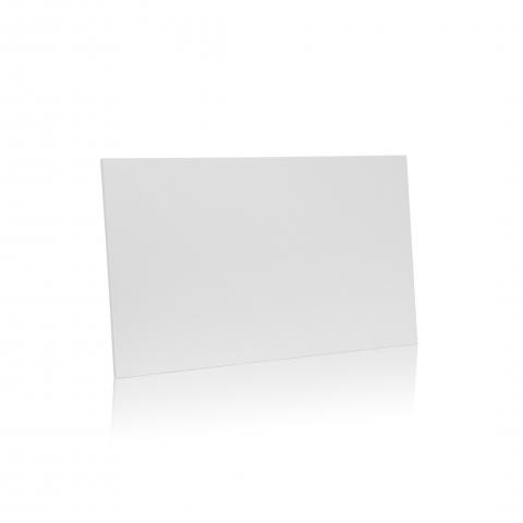 Hvid trælåge D21W fra Unnu