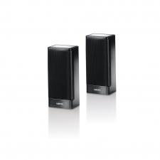 To S1 højtalere i sorte fra Loewe