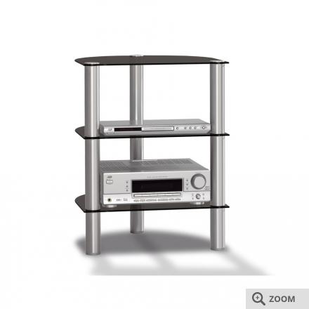 spectral just rack r590 black glass. Black Bedroom Furniture Sets. Home Design Ideas
