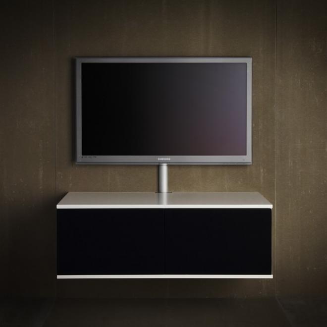 kabelbakke skjuler kablerne fra din fladsk rm til clic m bel. Black Bedroom Furniture Sets. Home Design Ideas