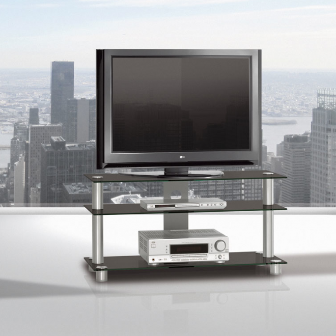 spectral just rack tv1053 clear glass. Black Bedroom Furniture Sets. Home Design Ideas