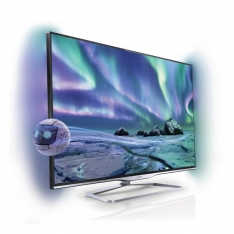 Philips 55PFL8008 med Ambilight