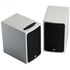 Q Acoustics BT3 Bluetooth Stereo Speaker i hvid