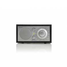 Bordradio model ONE BT Tivoli Audio sort ask/sølv