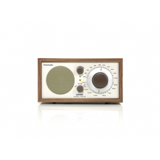 Model ONE BT valnød/beige bordradio