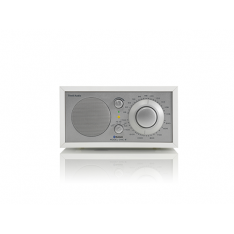 Bordradio model ONE BT Tivoli Audio hvid/sølv