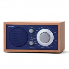 Bordradio model ONE Tivoli Audio cherry/koboltblå
