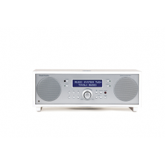Music System Two+ piano white/silver