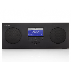 Tivoli Audio Music System Three+ anlæg Sort