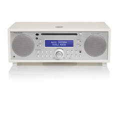 Music System+ sort piano white/silver fra Tivoli Audio