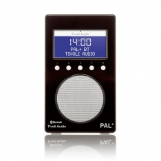 PAL+ BT Tivoli Audio bærbar radio højglans sort