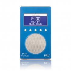 PAL+ BT Tivoli Audio bærbar radio højglans blå