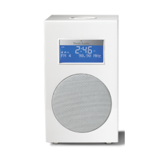 Tivoli Audio Model 10+ klokradio Frost Hvid