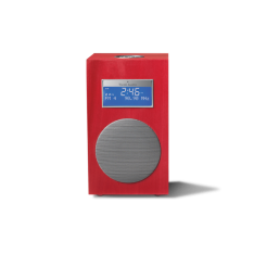 Model 10+ klokradio Tivoli Audio Carmine Red
