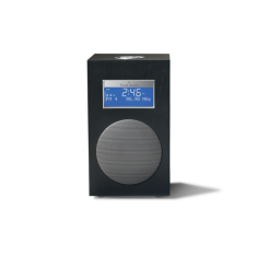 Model 10+ klokradio Tivoli Audio Midnight Black