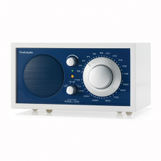 Bordradio model ONE Tivoli Audio frost hvid/atlantic blue