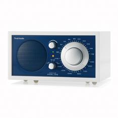 Bordradio model ONE Tivoli Audio frost hvid/atlantic blue