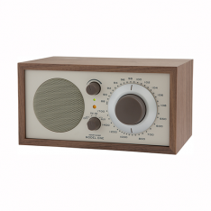 Model ONE beige/valnød bordradio