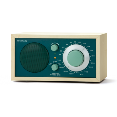 Bordradio model ONE Tivoli Audio ahorn/jægergrøn