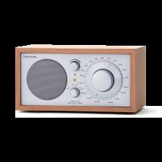 Bordradio model ONE Tivoli Audio cherry/sølv