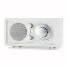 Bordradio model ONE Tivoli Audio frost hvid/sne hvid