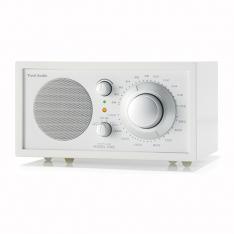 Bordradio model ONE Tivoli Audio frost hvid/sne hvid