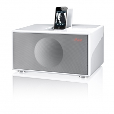 Geneva Sound System Model M +CD, hvid med ipod dock