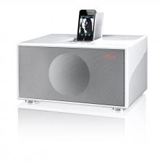 Geneva Sound System Model M +CD, hvid med ipod dock