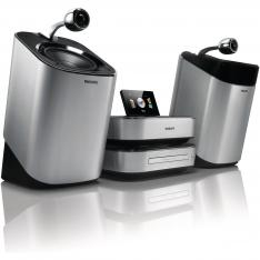 Philips MCD900/12 med SoundSphere-højttalere