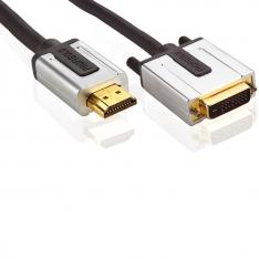 Profigold HDMI - DVI Kabel 5m