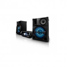 Sony - Shake-5 stereoanlæg med flerfarvet LED-lysdisplay
