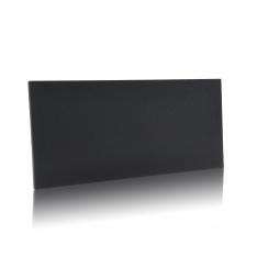 Sort stoflåge C21 Large i sort fra Unnu